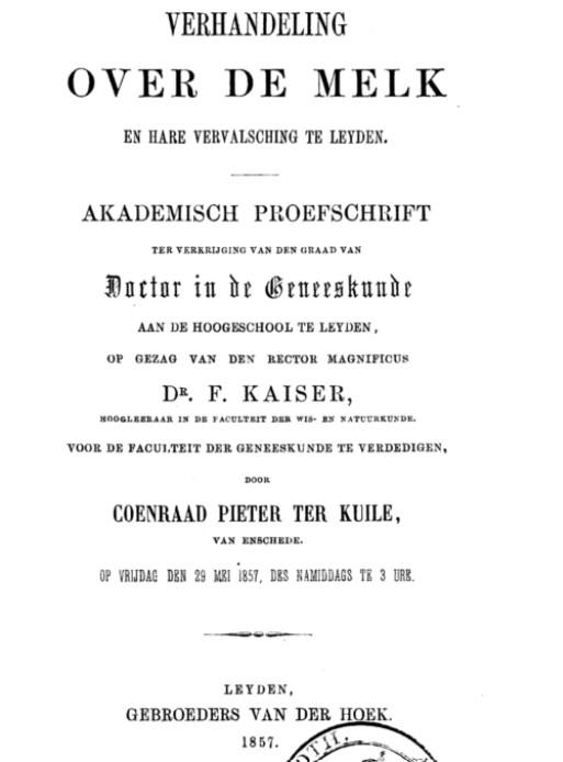 Proefschrift C.P. ter Kuile